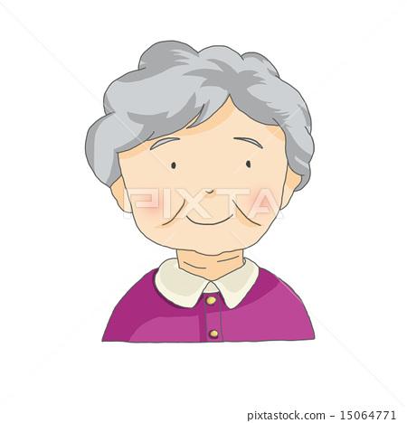 Smiling grandmother 15064771