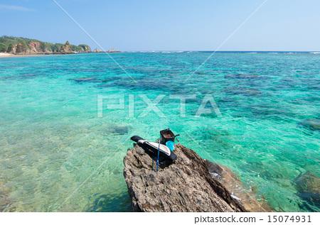 Fishing in Okinawa · Iris fishing 15074931