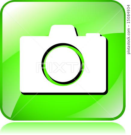 green camera icon 15084934