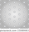 Silver Sun Seamless Pattern on Pastel Background 15089063