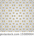 Silver Sweet Flower Pollen on Pastel Background 15089064