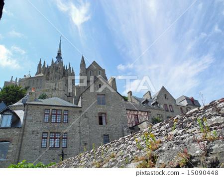 Mont Saint Michel inside 15090448