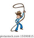 Cowgirl woman 15090815