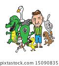 Monsters Aliens Animal boy 15090835