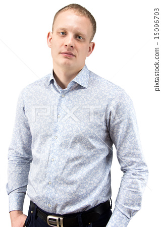 Photo of businessman in shirt 15096703