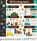 domestic infographic vet 15097357