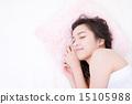 睡觉 小睡 女性 15105988