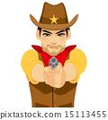 Cowboy Shooting Gun 15113455