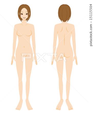 美女裸体全身 15115504