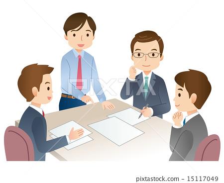 開會 會議 討論 15117049