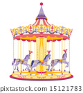 Carousel with horses 15121783