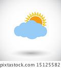 Overcast single icon.  15125582