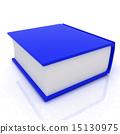 bookshelf, book, 3d 15130975