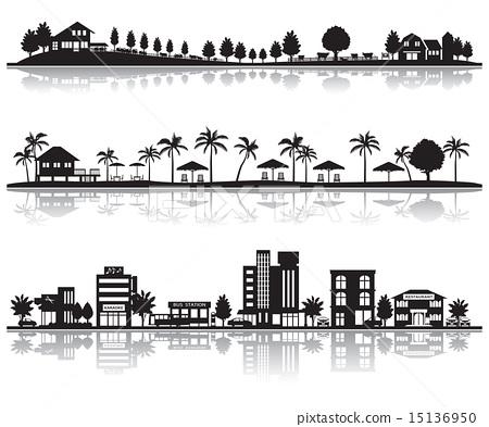 市容 城市風光 城市景觀 15136950