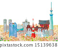 tokyo station, buildings, townscape 15139638