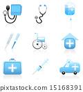 一組 圖標 醫療 15168391