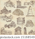 Architecture - hand drawn pack 15168549