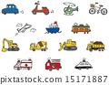 矢量 車 交通工具 15171887