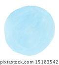 透明水色(圓圈/藍色) 15183542