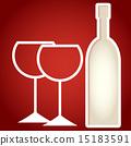 纸 葡萄酒 红酒 15183591