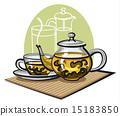 green tea 15183850