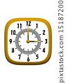 clock, watch, timepiece 15187200