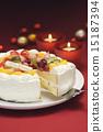 蛋糕服務生 割 切 15187394