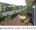 房屋 木甲板 住宅的 15191410