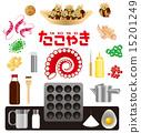 takoyaki, vector, vectors 15201249