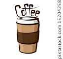 Vector Coffee Cup 15204258