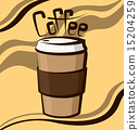 Vector Coffee Cup 15204259