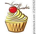 Vector Cupcake 15204262