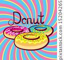 Vector Donut 15204265