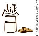 Vector Milk 15204270