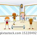 bodybuilder, work, out 15220492
