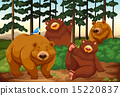 drawing, cartoon, bear 15220837
