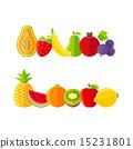 农场 水果 单调 15231801