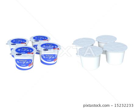 乳製品 發酵食品 優格 15232233