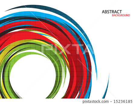 Colorful rainbow background. Vector Illustration 15236185
