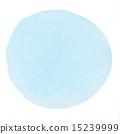 透明水色(圓圈/藍色) 15239999