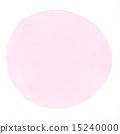 透明水彩(圓形/粉色) 15240000