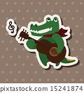 音樂 鱷魚 樂譜 15241874