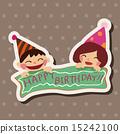 생일, 카드, 휴일 15242100