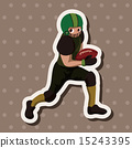 rugby, tackling, touchdown 15243395