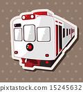 전차, 트램, 일러스트 15245632