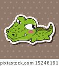鱷魚 插圖 動物 15246191
