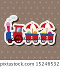 遊樂場 娛樂 火車 15246532