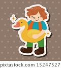 男性 鸭子 鸭 15247527