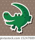 動物 鱷魚 圖標 15247689
