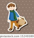 여행 가방, 일러스트, 삽화 15249389